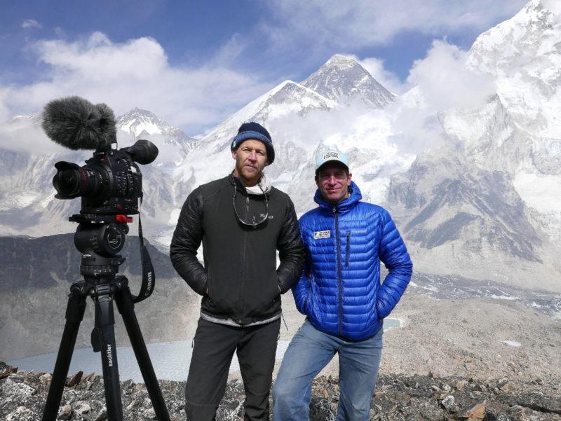 Director Philip Flaemig erobert den Mount Everest mit Hilfe von Sachtler