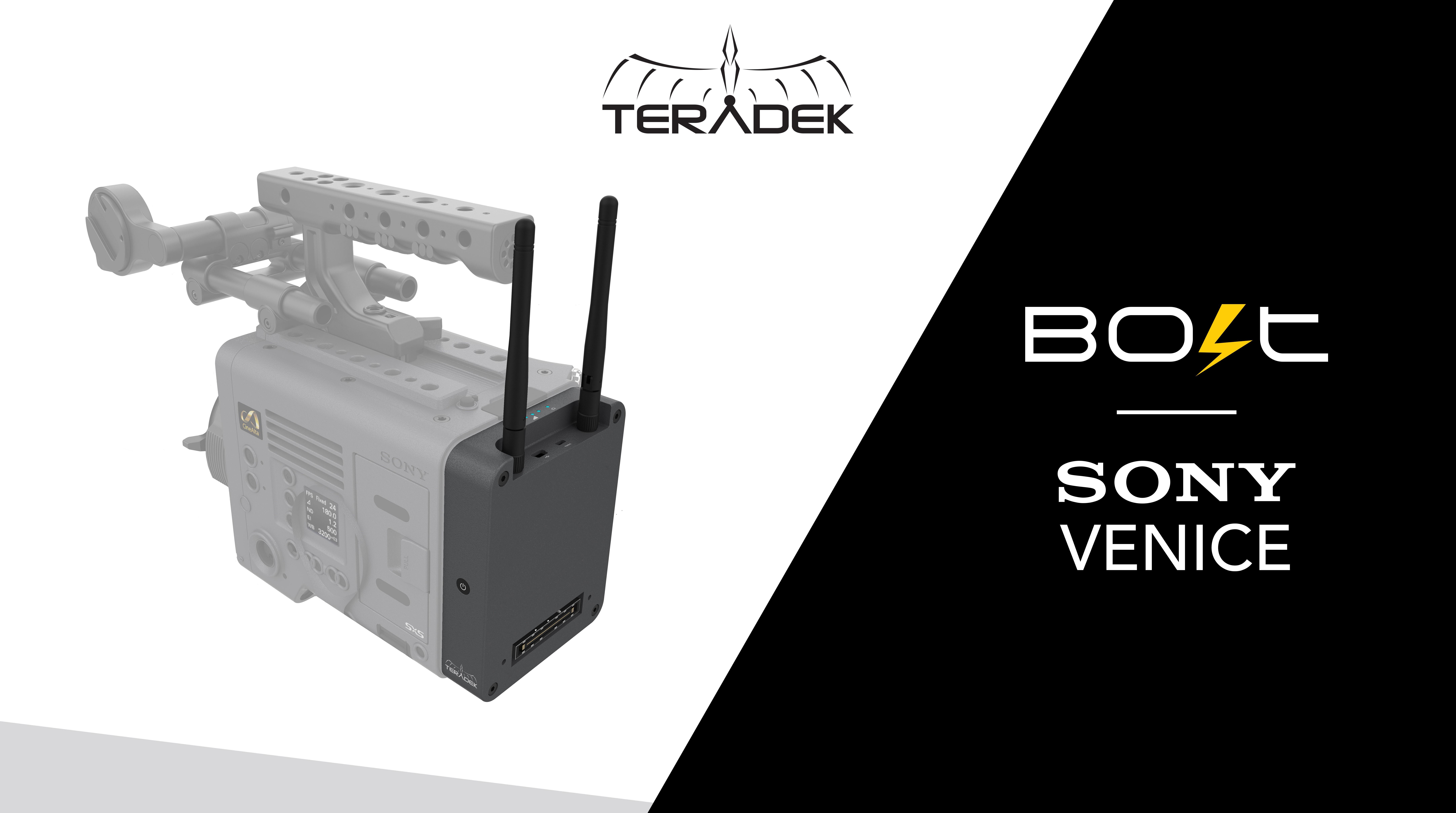 Teradek Bold – bald auch für die SONY Venice