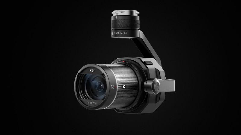 DJI Update – Zenmuse X7 Kamera nun auch für Apple ProRes RAW
