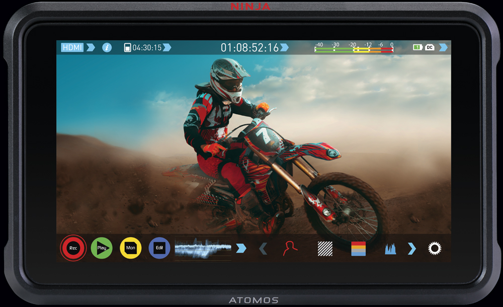 Record like a Ninja with Atomos Ninja V 4K