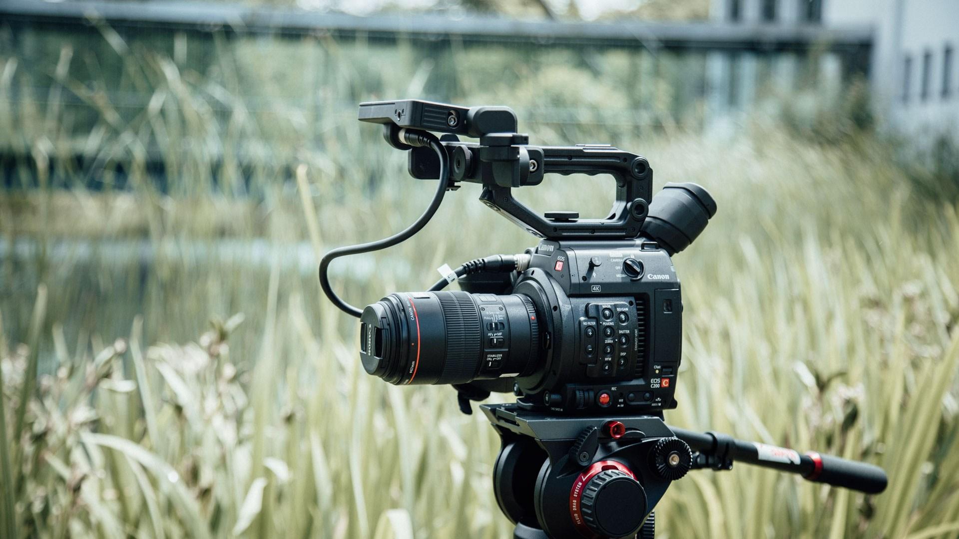 Canon EOS C200 im Einsatz