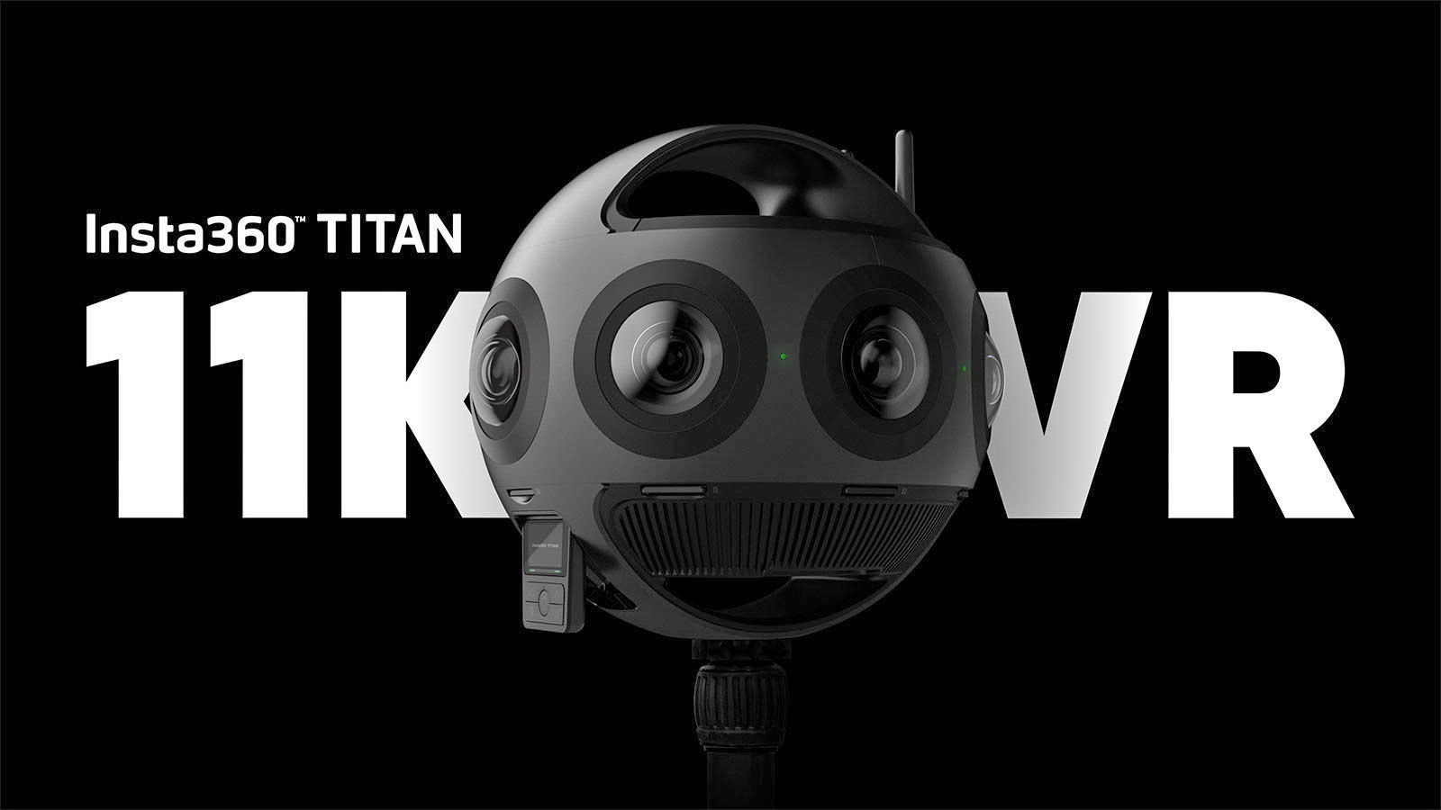 Insta360 Titan – 360-Grad Video mit 11K bei 30 FPS
