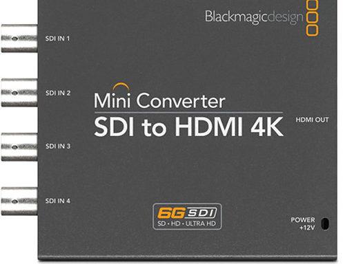 Blackmagic Design 4K Mini Konverter SDI to HDMI