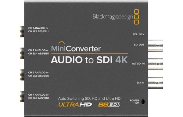 Blackmagic Design Mini Konverter 4k Audio to SDI