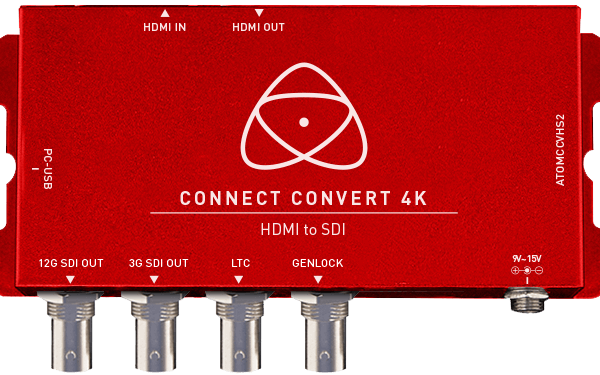 ATOMOS CONNECT CONVERT 4K HDMI to SDI mit Scale/Overlay