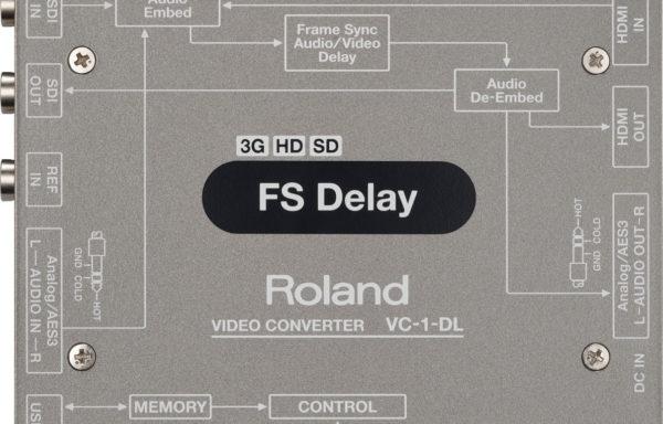 Roland VC-1-DL Video Converter FS Delay