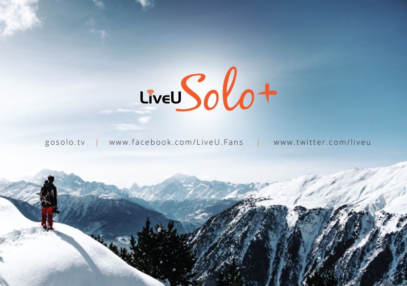 Der neue LiveU Solo +