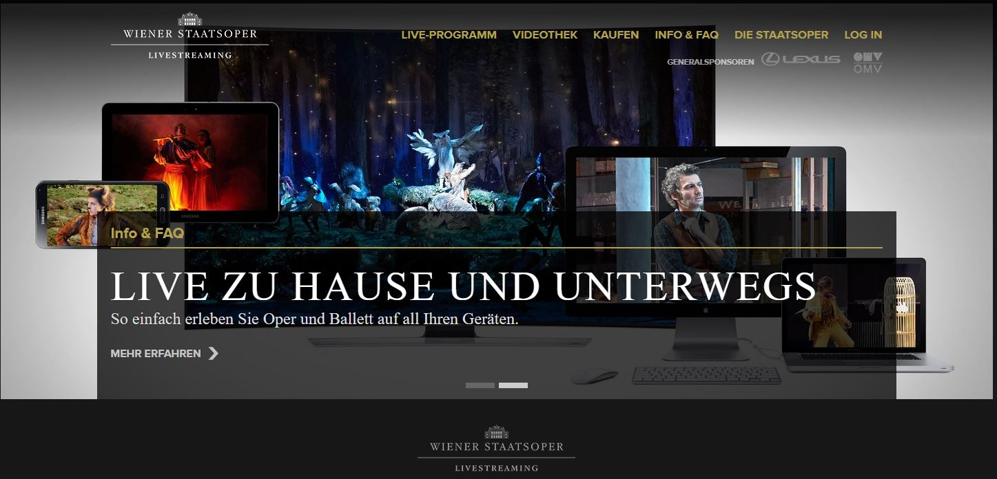 Staatsoper Live powered by ETAS