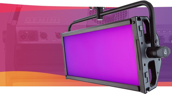 Litepanels Gemini 2×1 Soft RGBWW Firmware C1