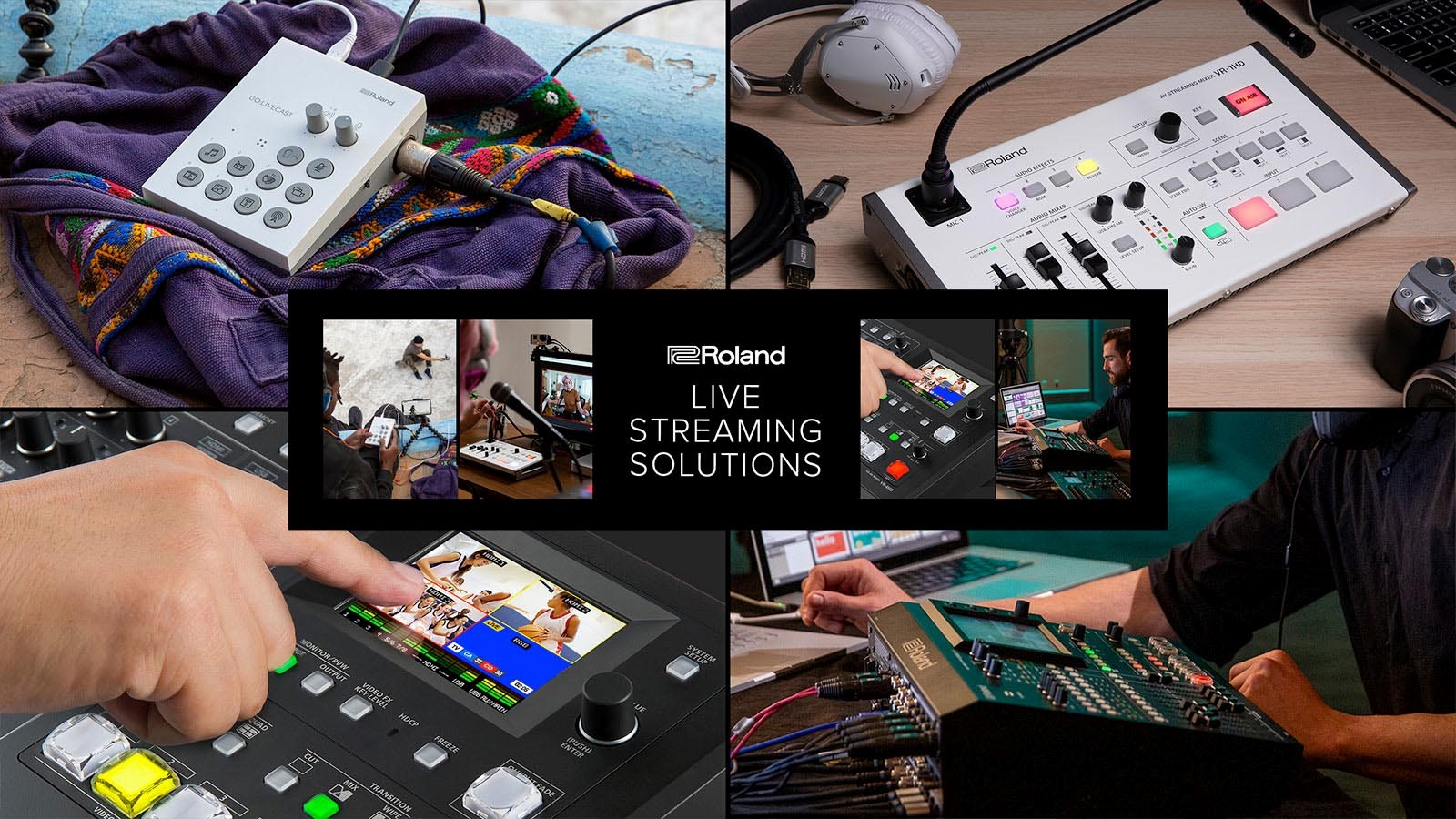 Roland – WANT TO GET ONLINE AND START LIVESTREAMING?