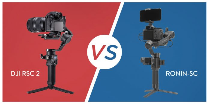 Vergleich: DJI RSC 2 vs. Ronin-SC Was ist neu?