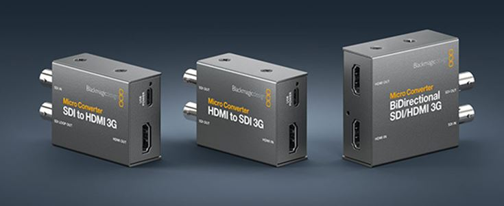 Blackmagic – Three New Micro Converters Announced