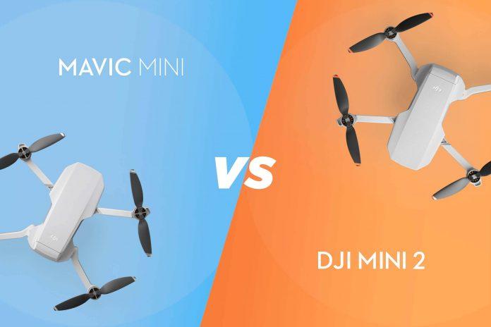 DJI Mini 2 vs. Mavic Mini: Die beste Mini-Drohne aller Zeiten