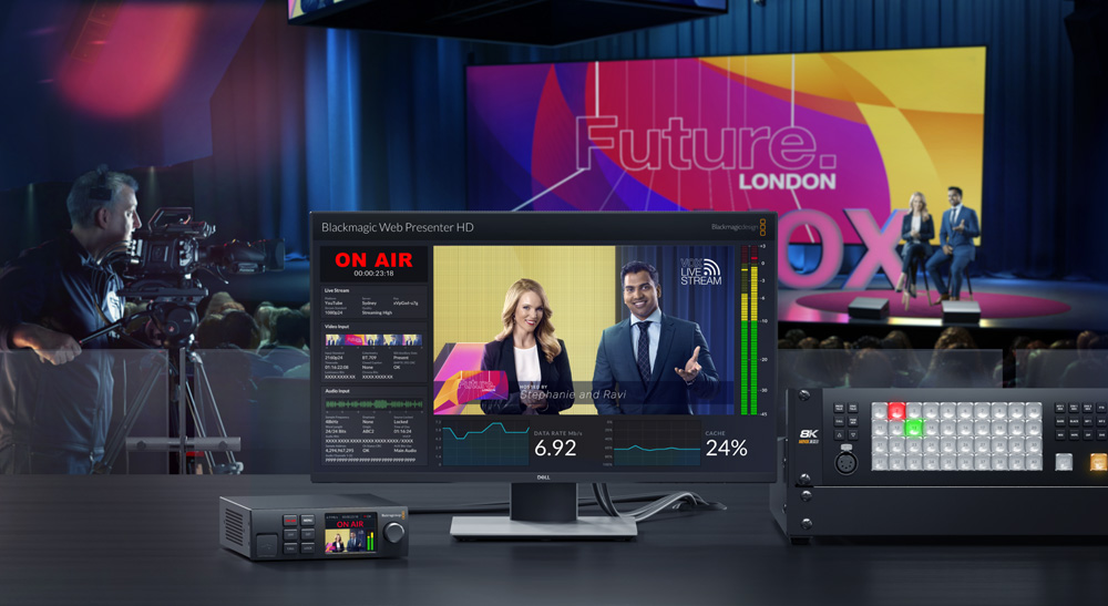 Blackmagic Design – neuer Web Presenter HD
