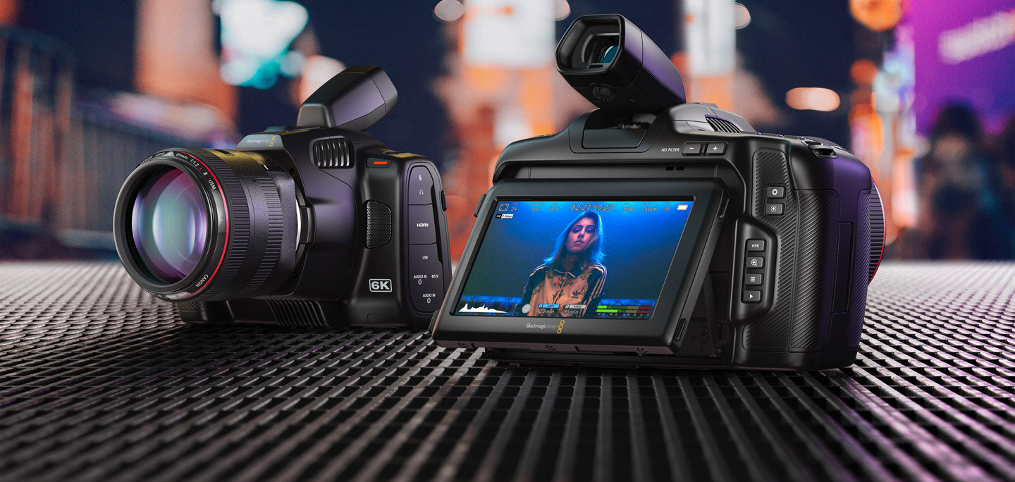 Blackmagic Design – Blackmagic Pocket Cinema Camera 6K Pro