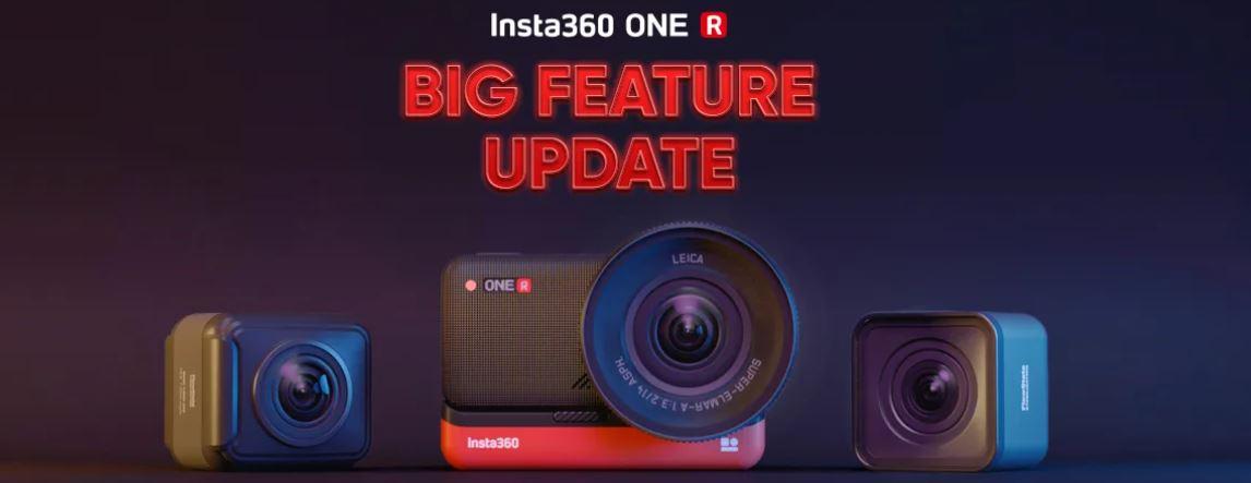 Big Feature Update for Insta360 ONE R: Horizon Lock, Loop Recording & More