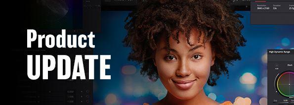 Blackmagic Design – Product UPDATE