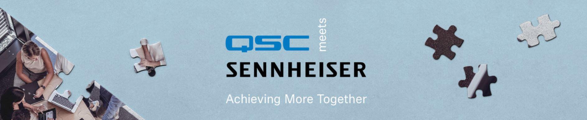 QSC meets Sennheiser