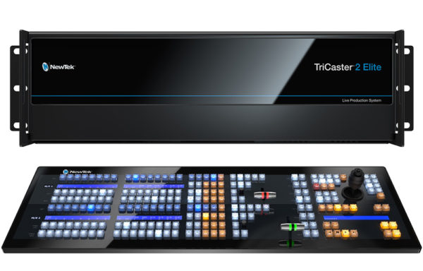 NewTek VMC1 inkl. 2 Stripe Kontrollpult + Video Mix Engine