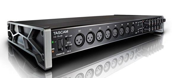 Tascam US-16×8 Audio Interface