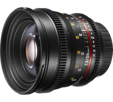 Walimex Pro VDSLR Weitwinkel 50 mm f/1.5, MFT